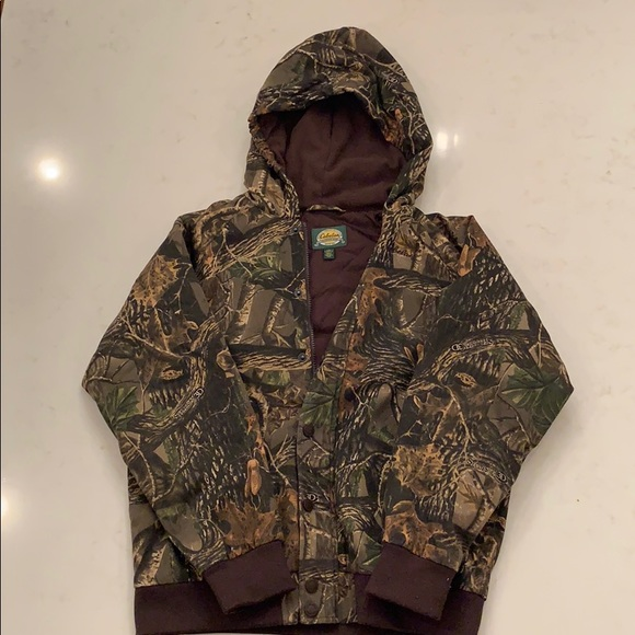 Cabela's Boys Insulated Seclusion 3D Camo Jacket